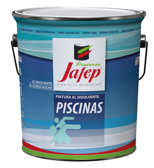 Piscinas clorocaucho sport pinturas jafep for Pintura piscina clorocaucho