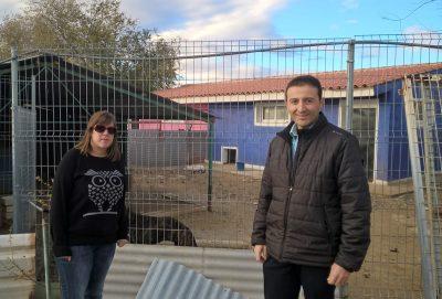Marta Guillén es la responsable de Voluntariado en la Asociación - José Miguel Córdoba forma parte del equiop de Padel Pinturas en Albacete