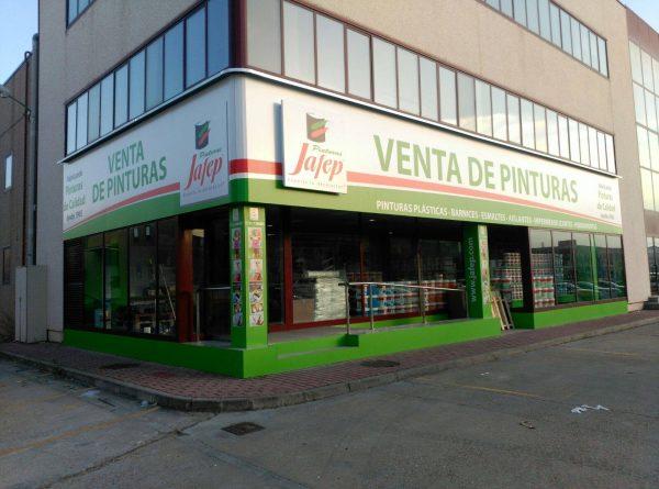 distribuidor pinturas jafep Valladolid