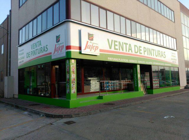 Distribuidor de Pinturas JAFEP en Valladolid