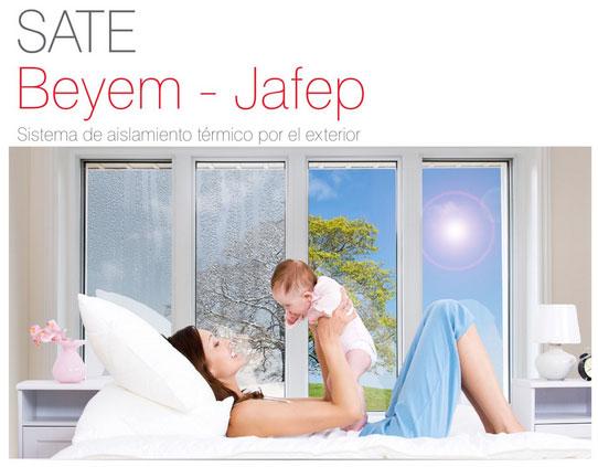 sistema de aislamiento de viviendas de Jafep