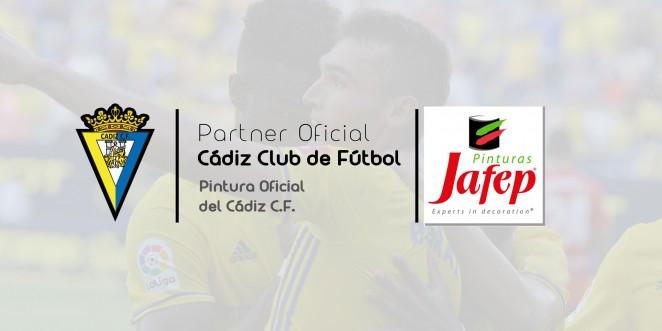 Pinturas jafep patrocinador Cadiz CF