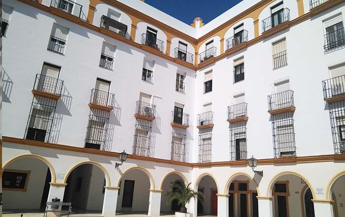 resultado de rehabilitación de fachada en San Fernando